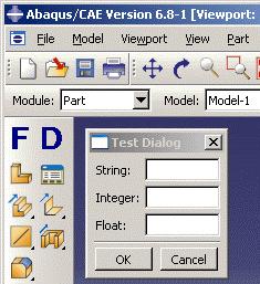 Abaqus GUI Toolkit User's Manual (v6 8)